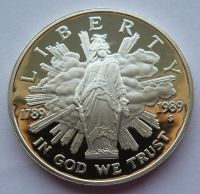 USA 1 Dol. 1789-1989 1989