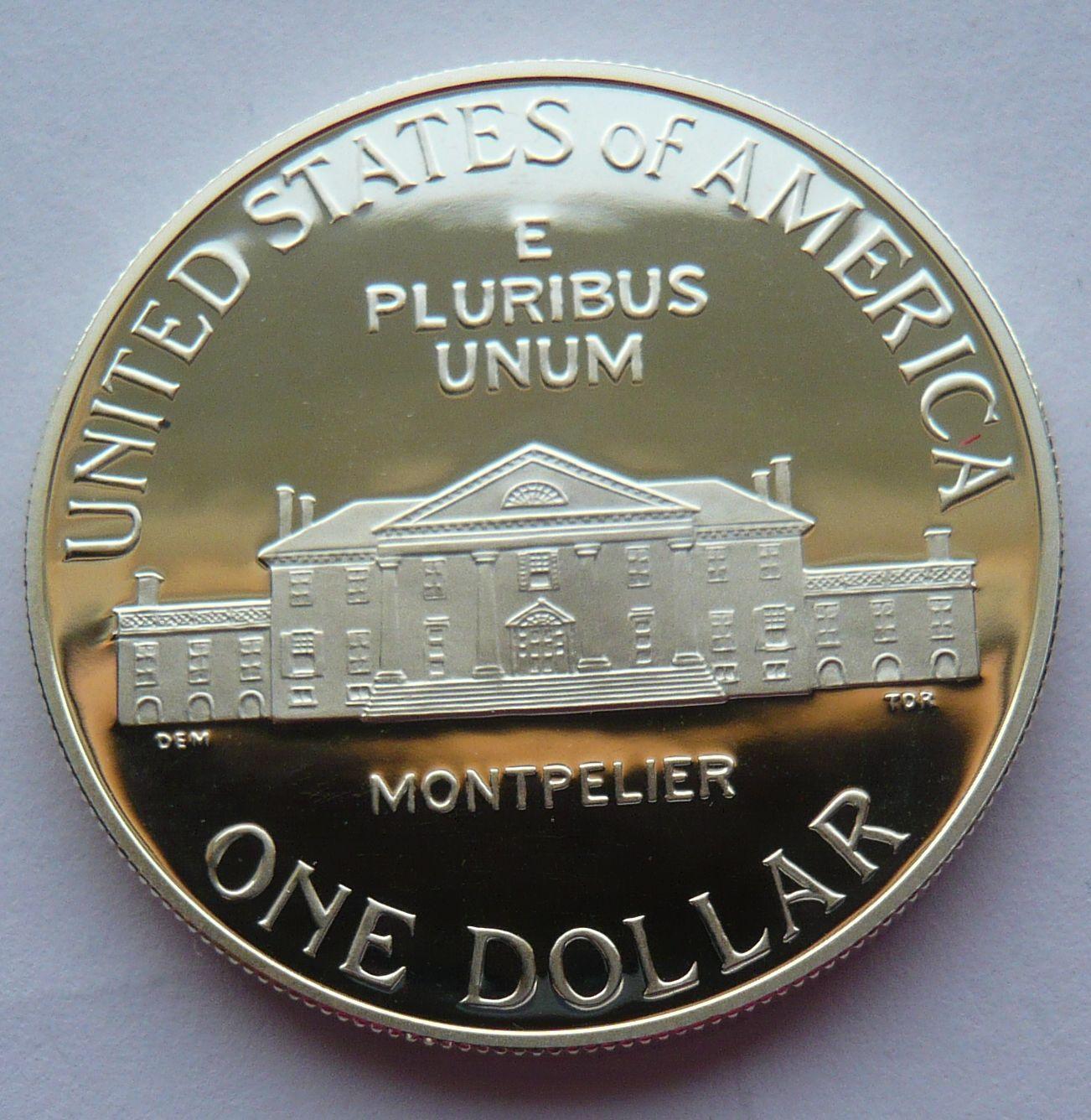 USA 1 Dol. Madison 1993