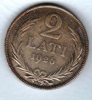2 Lati(1926), Lotyšsko