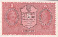 5Kč/1919/, stav 1+, série 0131