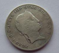 Rakousko 1/2 Tolar 1838 A Ferdinand V.