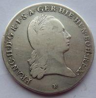 Uhry Tolar křížový 1793 B František II.