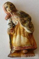 III.říše, zimní pomoc - figurka babka s holí