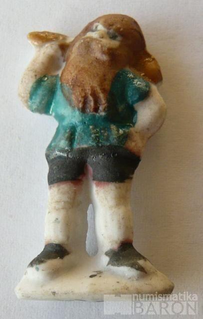 III.říše, zimní pomoc - figurka muž+kyj