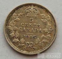 Kanada 5 C 1905 Edvard VII.