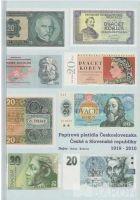 Papírová platidla Československa, České a Slovenské republiky 1919-2010, Jan Bajer