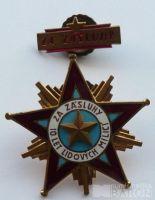 ČSSR - hvězda LM - 1.tř. + štítek