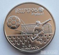 Gibraltar 1 Cronen Euro 1996