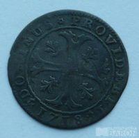 Švýcarsko 1/2 Batzen 1718