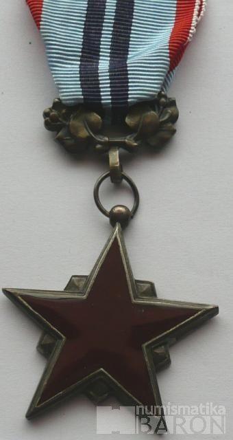 ČSSR - řád rudé hvězdy práce - původní etue
