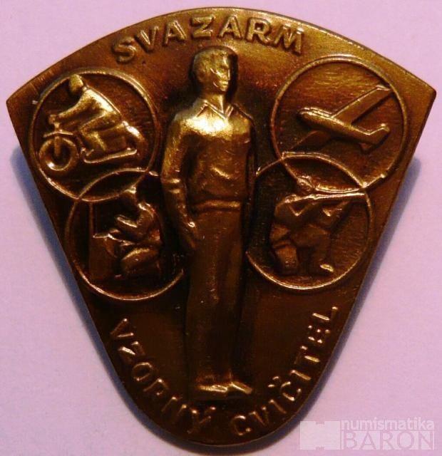 ČSSR - Vzorný učitel Svazarmu