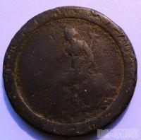 Anglie 1/2 Pence 1799 Jiří III.