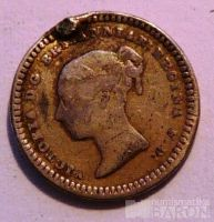 Anglie 1 a 1/2 Pence 1843
