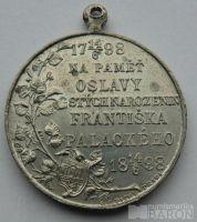 Čechy František Palacký 1850-1915