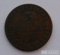 Hessen 3 Haller 1843