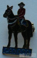 Kanada - odznak jízdní policie