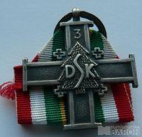 Polsko pamětní kříž divize karpatských střelců 1942-92