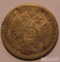 Rakousko 10 Krejcar 1871