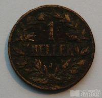 Něm.vých.Afrika 1 Haléř 1907 J