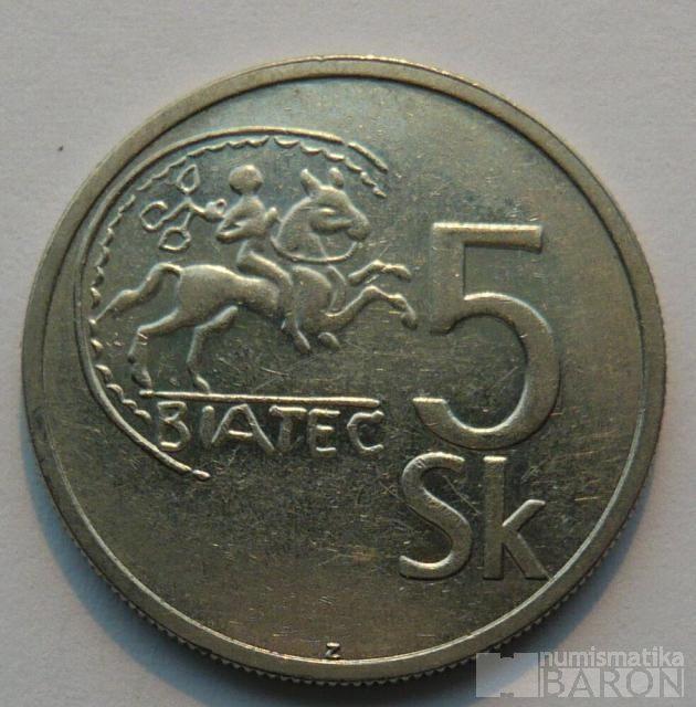 Slovensko 5 Ks 1993