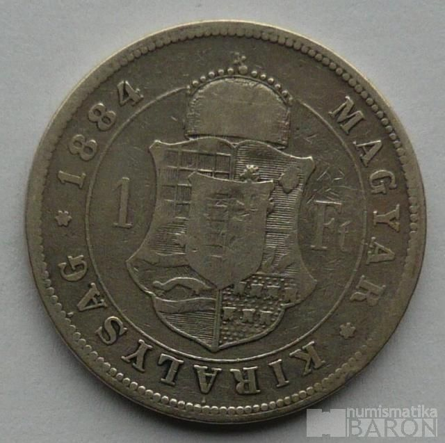 Uhry 1 Fl 1884 KB