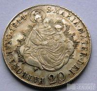 Uhry 20 Krejcar 1844 B Ferdinand V.