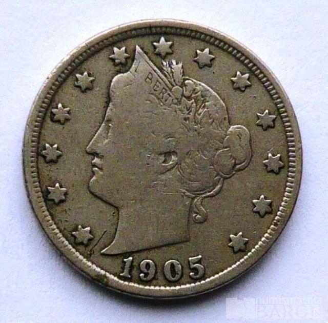 USA 5 Cent 1905