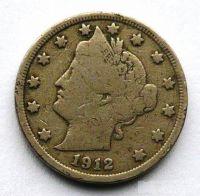 USA 5 Cent 1912