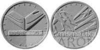 200 Kč(2009-Mistrovství světa v klas. lyžování), stav PROOF, certifikát