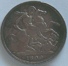 Anglie Croven 1890 Viktorie