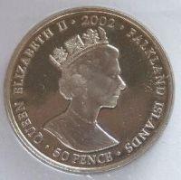Falklandy 50 Pence návštěva Kanady 2002