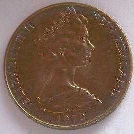 Nový Zéland 1 Dollar 1970