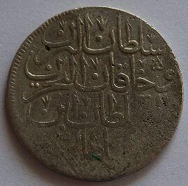Osmanská říše 1 Zolota Mustafa III. 1106