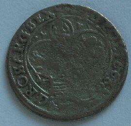 Polsko 6 Groš 1663 Jan II.