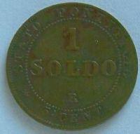 Vatikán 1 Soldo 1867