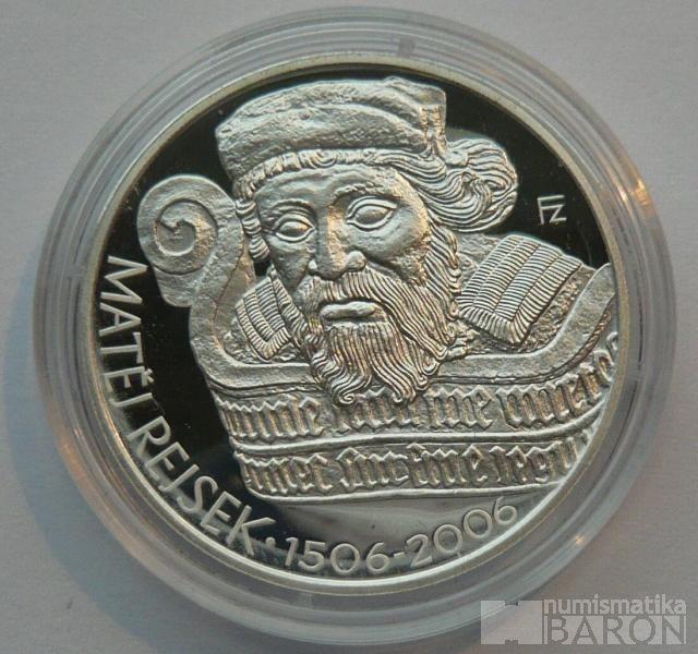 200 Kč(2006-Rejsek) stav PROOF
