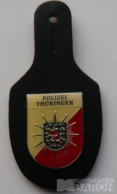 Německo - policie Thuringen