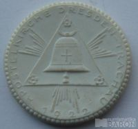 Německo - porc.medaile zvon 1922