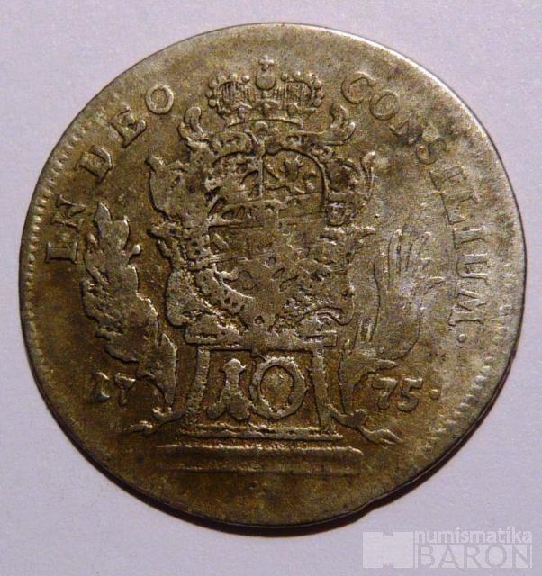 Bavorsko 10 Krejcar 1775 Max.Josef III.