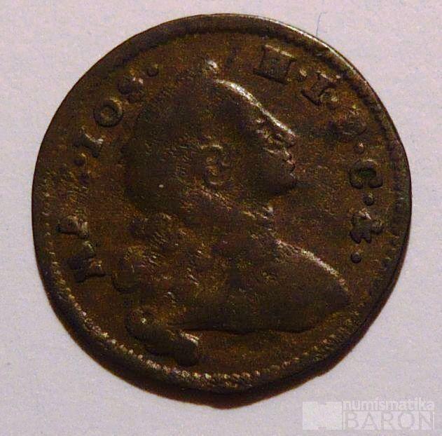 Bavorsko Krejcar 1754 Maxmil.Josef III.
