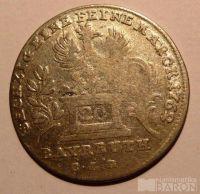 Bayrauth 20 Krejcar 1762 Friderius