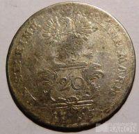 Brandenberg 20 Krejcar 1763 Alexander