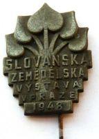 ČSR - Slovanská zeměd.výstava v Praze 1948