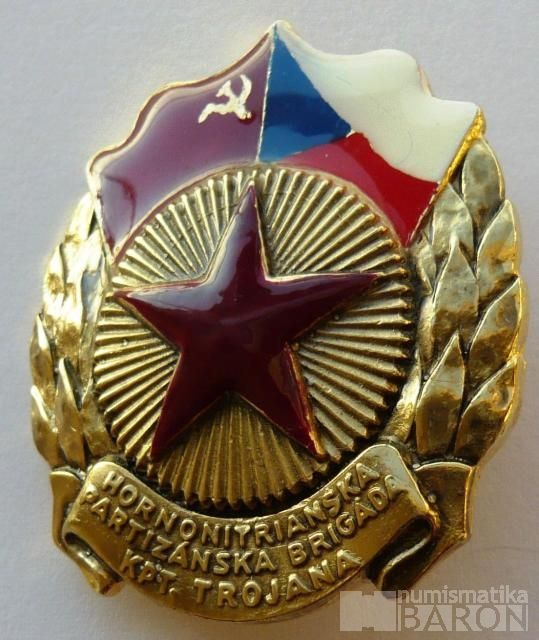 ČSSR - KOPIE Hornonitranská partyz.brigáda kpt.Trojana