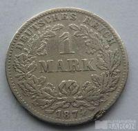Německo 1 Marka 1874 G