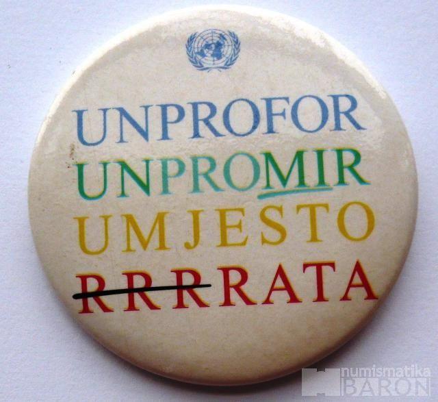 OSN odznak UMPROFOR