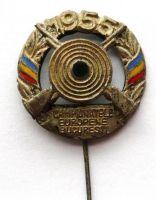 Rumunsko střelecký smaltov. Odznak 1955