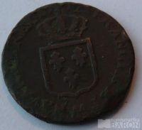 Francie 1 Sol. 1715-1774 Ludvík XVI.