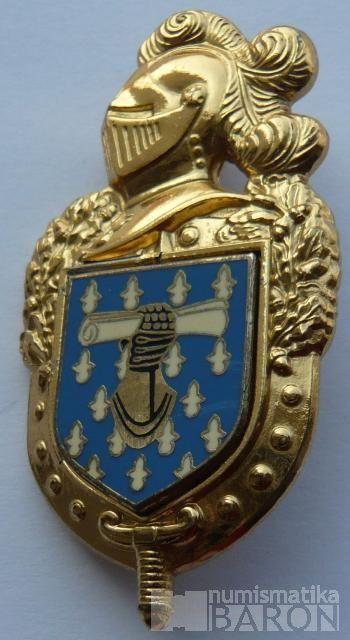 Francie - odznak absolvent voj.akademie