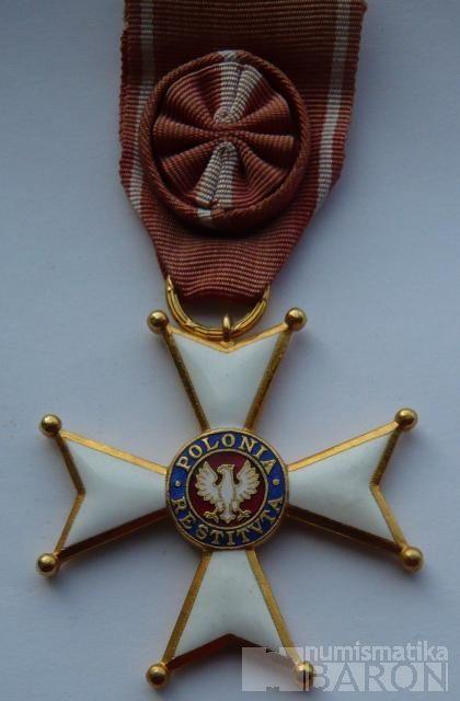 Polsko - Kříž POLONIA RESTITUTA s rozetou